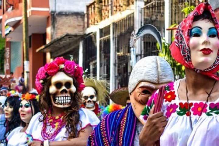 En Xantolo en San Luis Potosí es parte de las celebraciones del Día de Muertos en la región Centro – Occidente de México. Foto: Archivo
