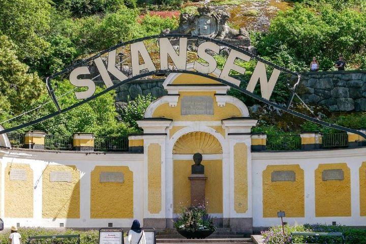 """Esta es la entrada al museo más bonito de todo el mundo, también conocido como """"Pequeña Suecia"""". Foto: visitstockholm"""