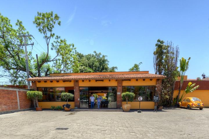 Entrada del Hotel hacienda la Noria Foto_TripAdvisor1