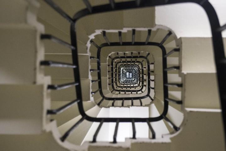 Las escaleras del Big Ben Foto: Archivo