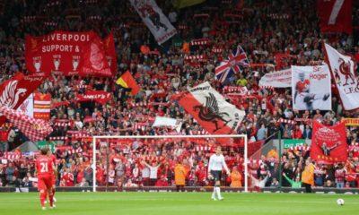 Estadio Anfield, Inglaterra. Foto: Archivo
