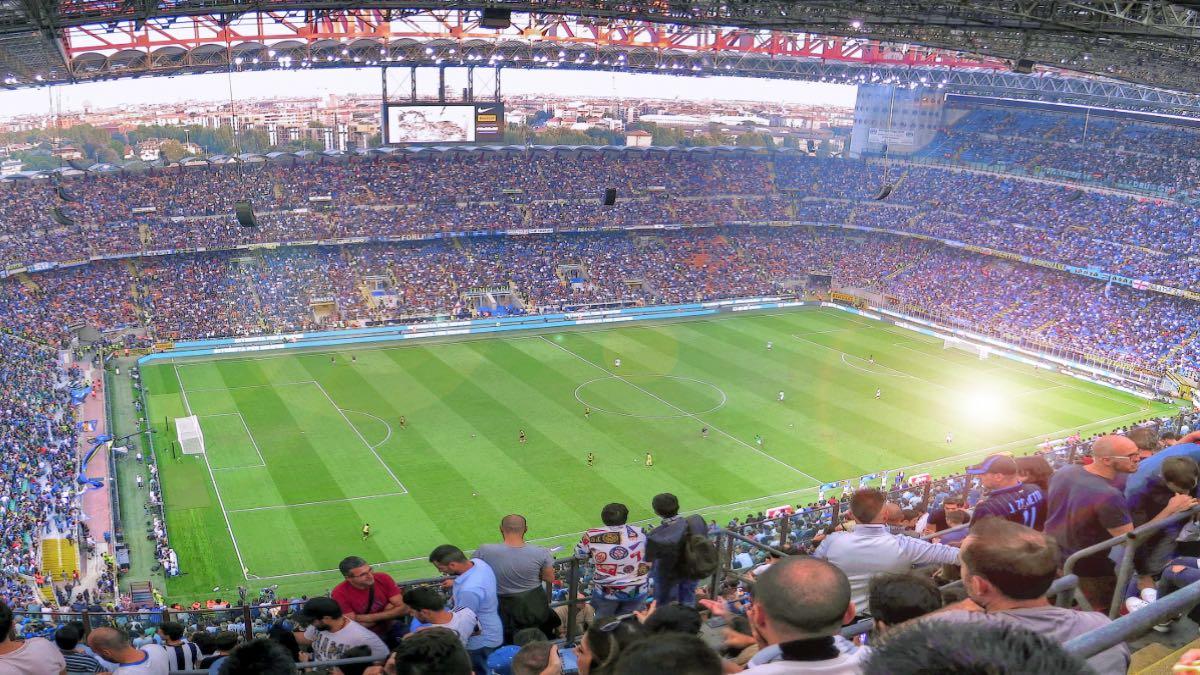 Estadio San Siro, Milán. Foto: FZA_1970