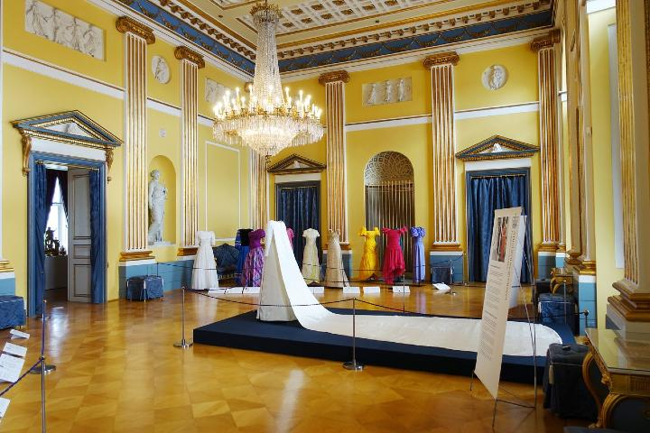Exposición de vestidos de novia en Amalienborg Foto: TripAdvisor