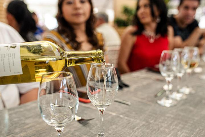 Feria del queso y vino; una de las fiestas y ferias de Tequisquiapan. Foto: Feria del queso y el vino