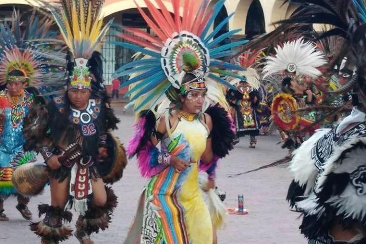 Fiesta en honor a Santa María de la Asunción; una de las fiestas y ferias de Tequisquiapan. Foto: Archivo
