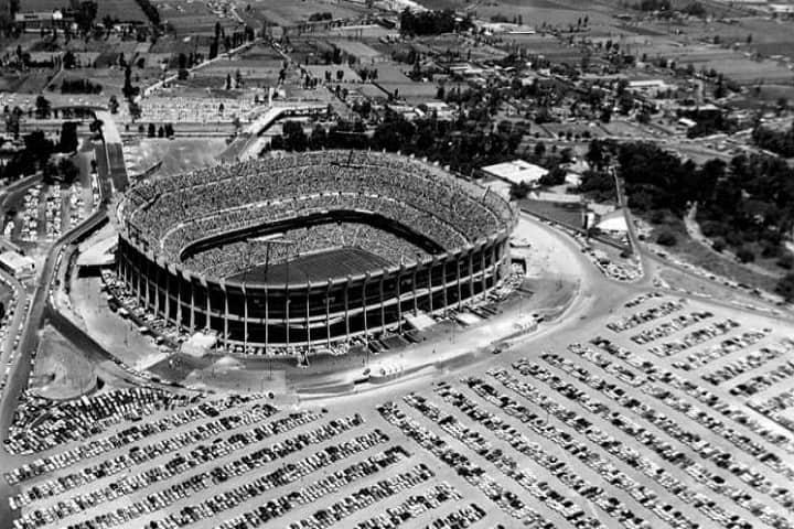 Esta es la única foto de la final de 1970 en el Estadio Azteca, ¿Qué te parece? Foto: FIFA