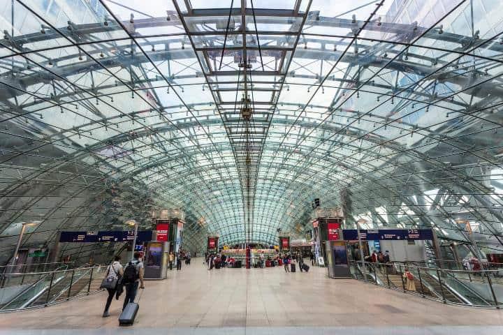 Frankfurt airport Foto: Traveler