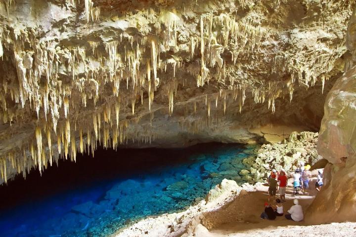 Gruta del Lago Azul en el Parque Natural Bonito Foto: Inout Viajes