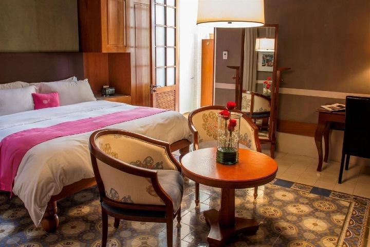 Habitaciones del hotel con un toque único Foto: Rosas & Xocolate Hotel