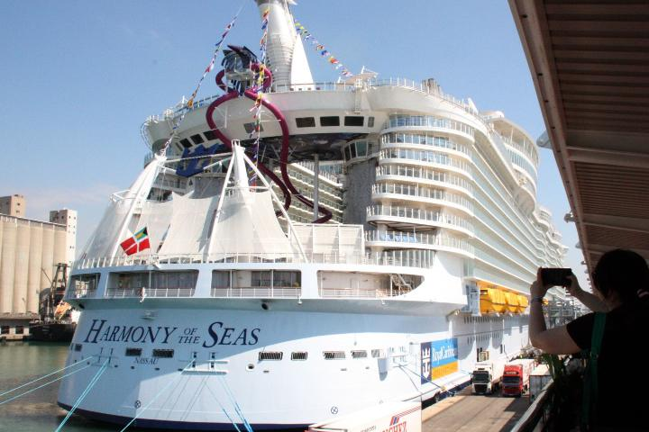 Harmony of the Seas Foto: El Nacional