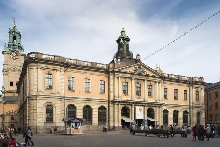 Esta es la hermosa Plaza del Museo del Premio Nobel en Estocolmo. Foto: Amy in photoland
