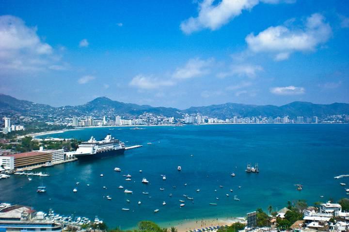Hermosa vista de Acapulco. Foto: JCastM