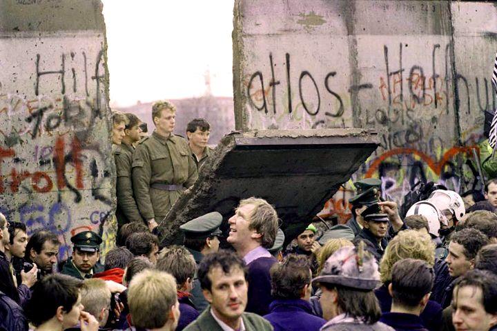 Historia del muro de Berlín. Foto: Más libertad