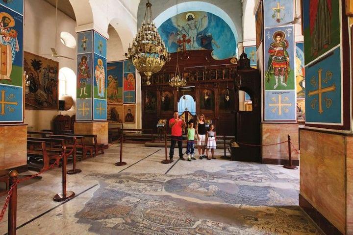 Iglesia San Jorge Foto: fundación tierra santa