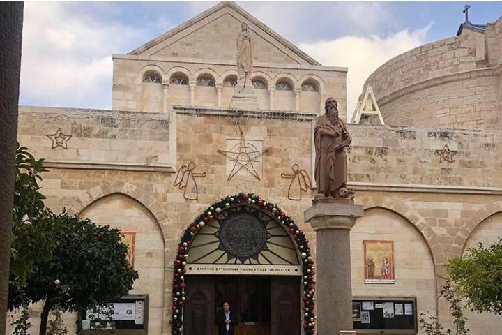 Iglesia de la Natividad en Belén. Foto: jrmontejo