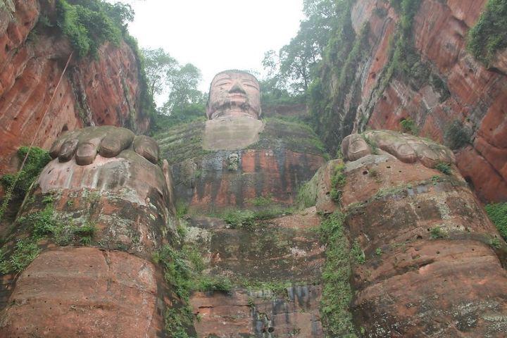 ¿Qué tan imponente se ve Buda con esa altura? Foto: Seba Della y Sole Bossio