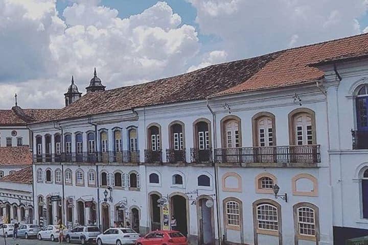 Arquitectura de La ciudad de Our Preto Foto: Ourpreto