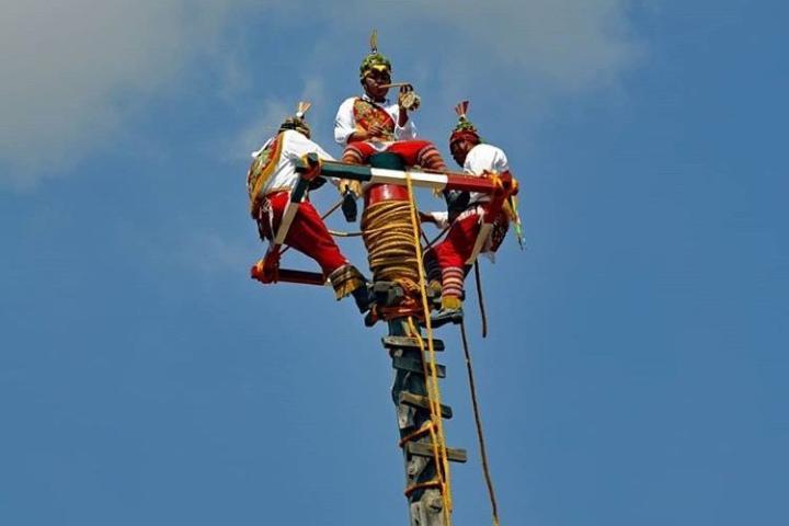 Forma en la que se colocan para dar inicio al ritual. Foto: marcos_pait