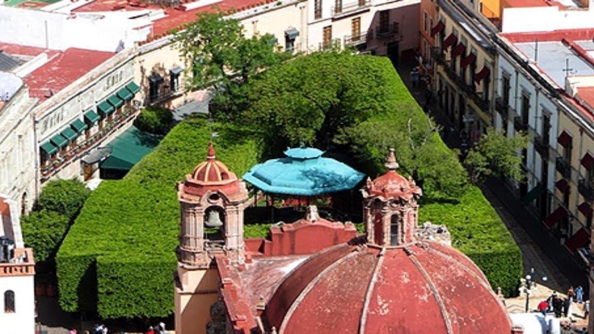 Jardín de la Unión, Guanajuato. Foto: Archivo