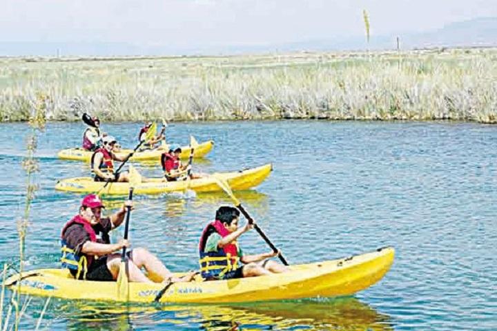 La adrenalina estará al tope haciendo kayak en el Río Mezquites. Foto: Zócalo