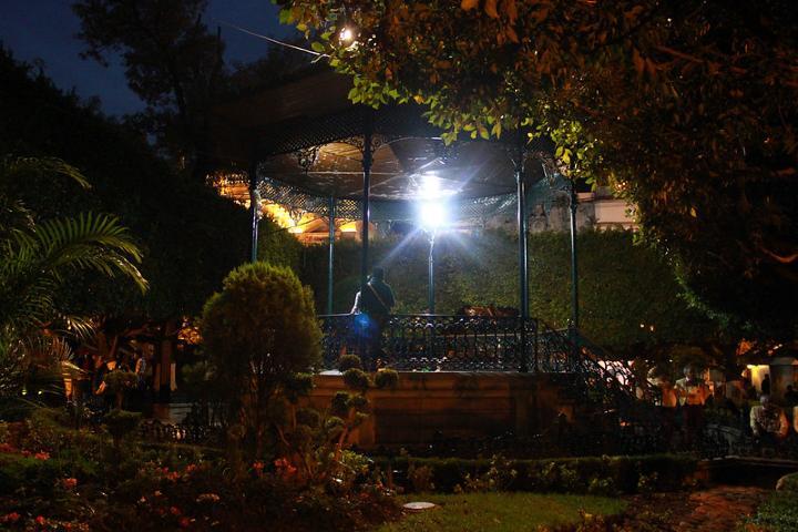 El Jardín de la Unión hará de tu visita a Guanajuato algo sensacional y mágico. Foto:  Hilda Montero