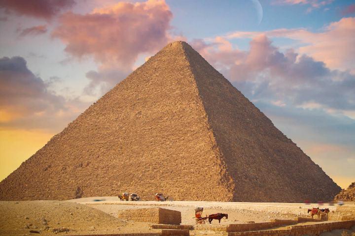 La Gran Pirámide Foto: el confidencial