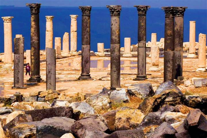 La antigua Gadara. Foto: ONEIRA Club de viajeros