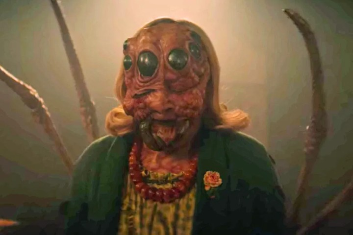 Hilda convertida en araña Foto: Netflix