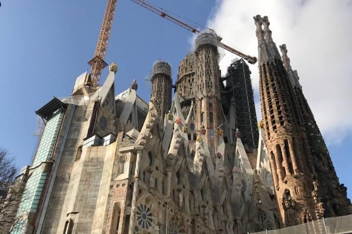 Basílica de la Sagrada Familia Foto: Ximena Martinez