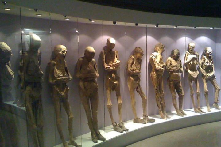 Las momias de Guanajuato. Foto: Javier Arriola