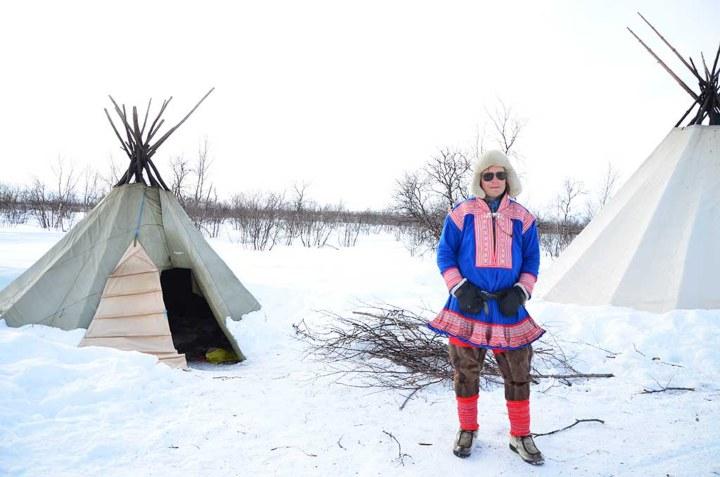 Sus vestimentas buscan tenerlos protegidos ante los fríos. Foto: Archivo