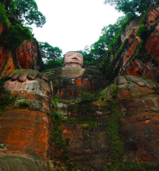 El Leshan Giant Buddha te espera para que te tomes una buena fotografía y la muestres a tus amigos. Foto: Lore Armen