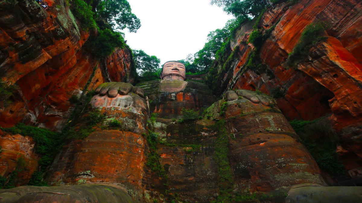 Leshan Giant Buddha Foto Lore Armen