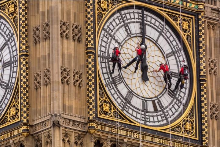 ¿Te subirlas a limpiar el Big Ben? Foto: Naf Selmani | Flickr