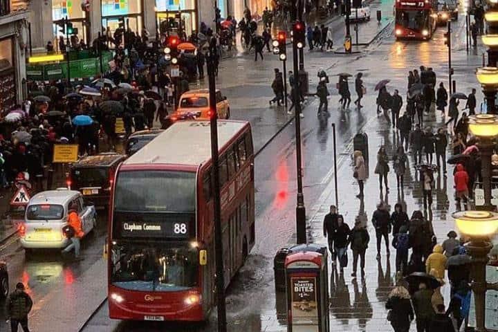 ¡Es en serio cuando te digo que Londres luce irreconocible! Foto london.the.city