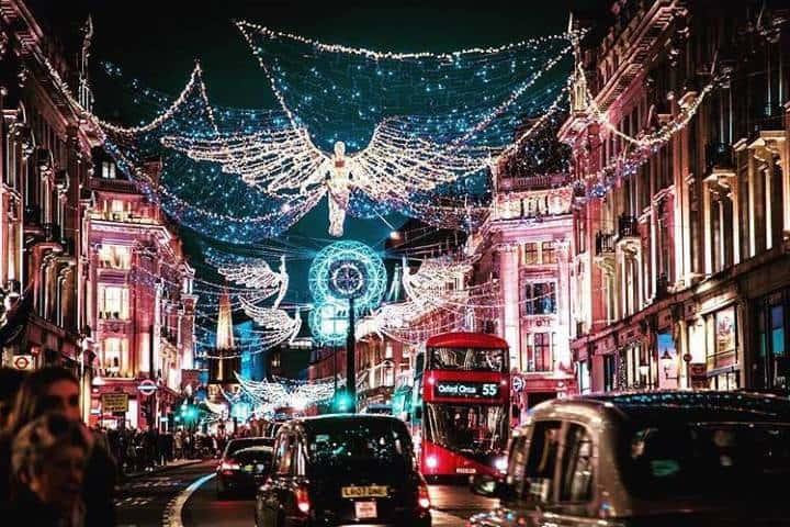 Londres, una de las ciudades más hermosas durante Navidad. Foto: chevalcollection