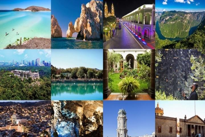 Lugares para viajar por todo México Foto: Reportur
