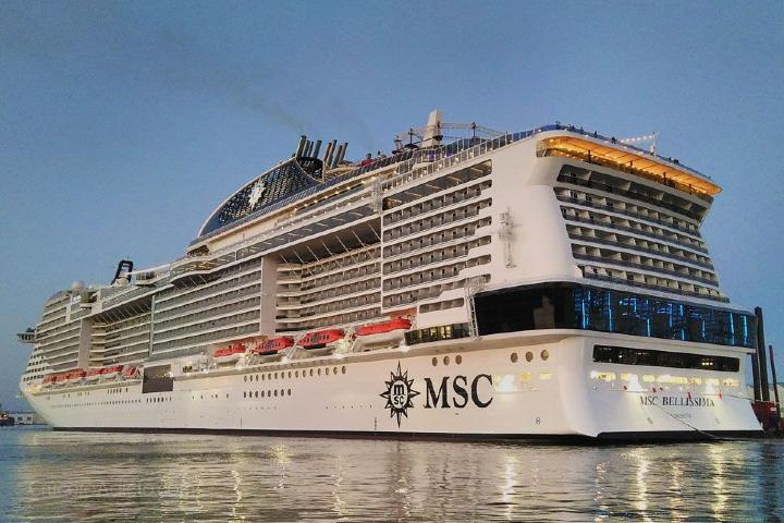 MSC Bellisima Foto: cruceroadicto