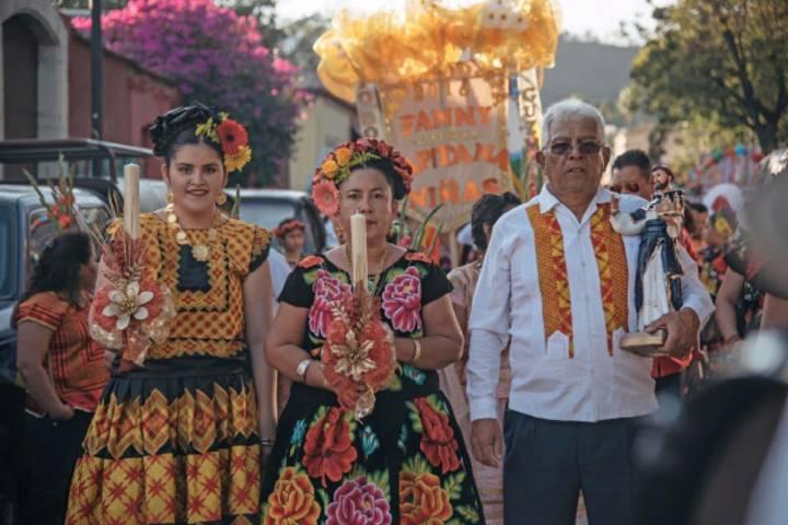 Mayordomías. Foto: NSS Oaxaca