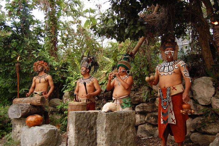 Los grandes pueblos de Mesoamérica solían convivir en paz. Foto: Alla Bu