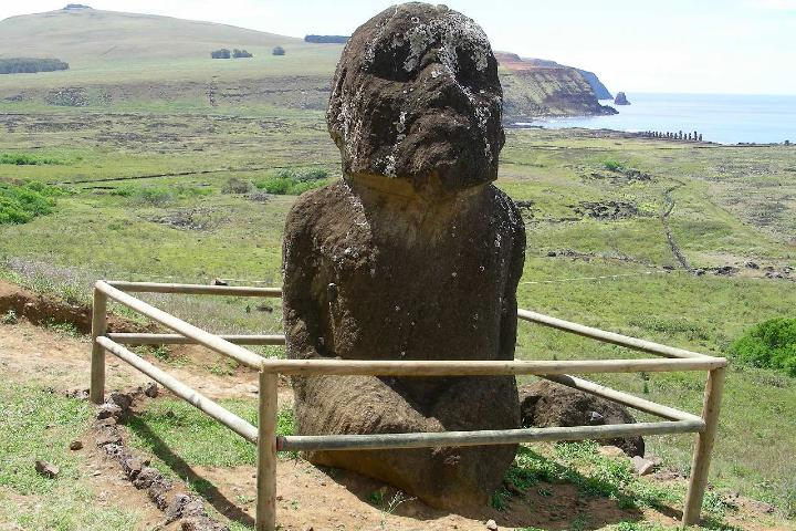Moai Ahu Akiui Foto: Ciencia de sofa
