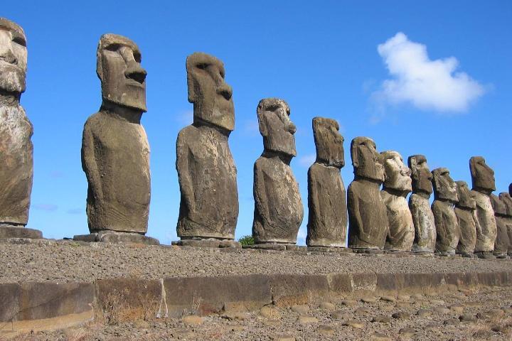 Conoce más acerca de los famosos Moáis. Foto: 1.4 Prehistoria