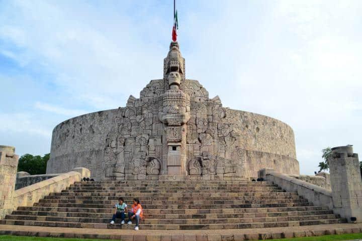 Monumento de la patria. Foto Francisco Enrique Camacho