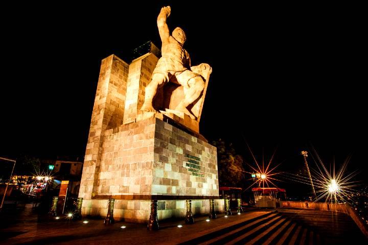 Monumento mirador El Pípila. Foto: EGEA