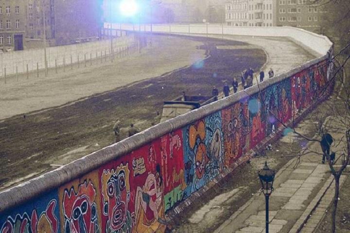 Historia del Muro de Berlín. Foto: Vox España