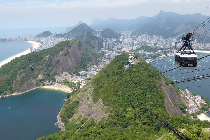 No te vayas de Brasil sin conocer Pan de Azúcar. Foto: Jochen Hertweck