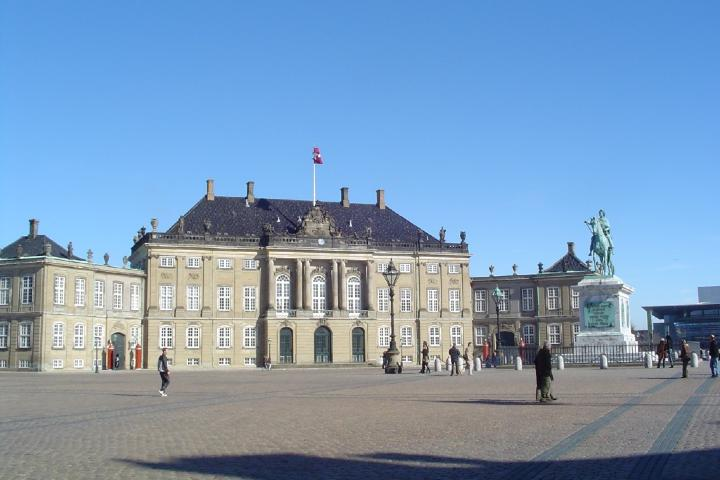 Palacio Amalienborg Foto: Ser Turista