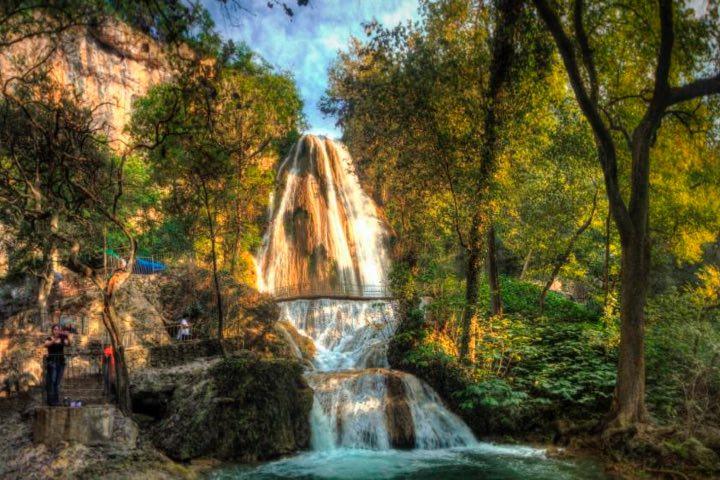 Parque Cola de Caballo es parte de la app Pasaporte Nuevo León Extraordinario. Foto: Archivo