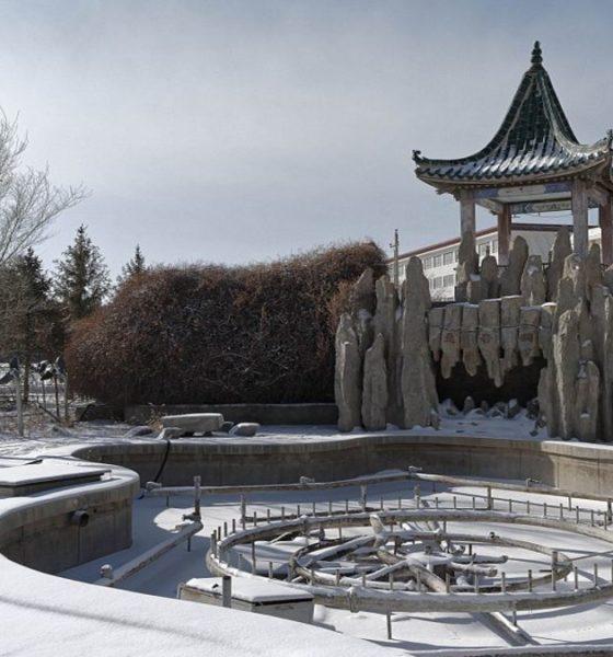 Parque abandonado Foto: Li Yang