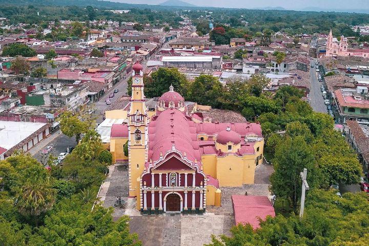 Parroquia de San Jerónimo, Santo Patrono de Coatepec. Foto: pptotravel